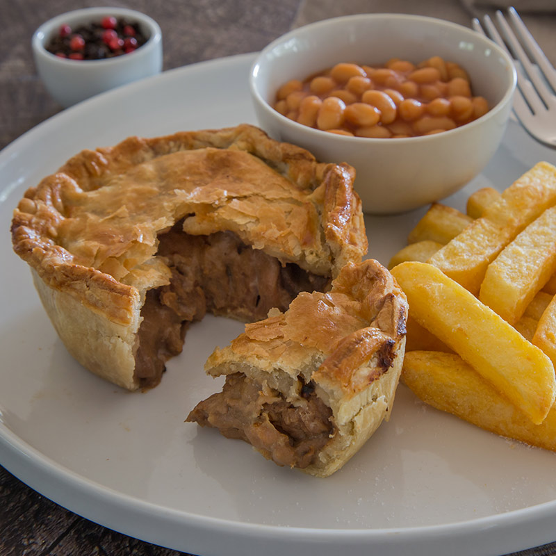Pepper Steak Pie - The Real Pie Company