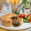 Steak, Stilton & Mushroom Pie