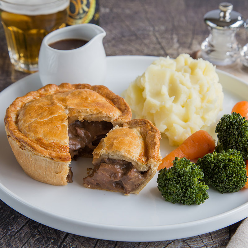 Just Steak Pie - The Real Pie Company