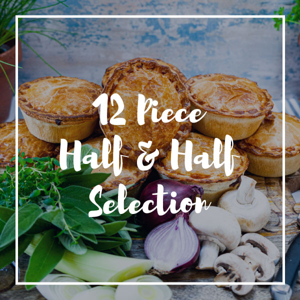 \Selection of chicken and steak pies